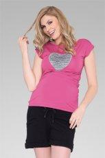 r�owy t-shirt z sercem - wiosna/lato 2012