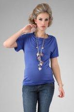 niebieska koszulka - wiosna/lato 2012