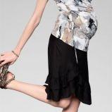 szara bluzka w ciapki - wiosna/lato 2012