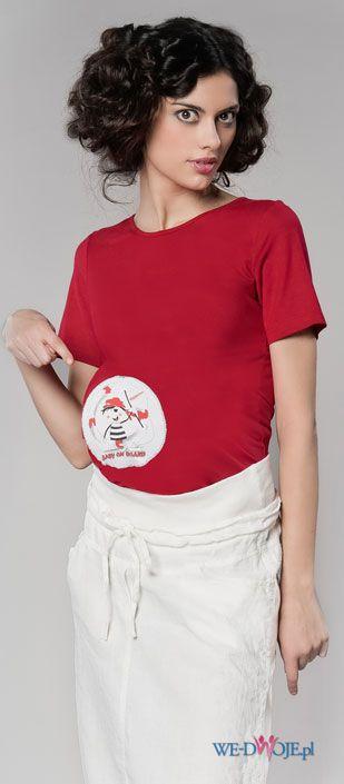 czerwona koszulka - wiosna/lato 2012