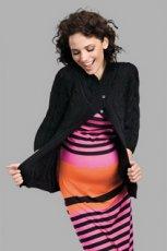 czarny sweter rozpinany - 2012