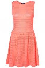 koralowa sukienka Topshop - wiosna/lato 2012