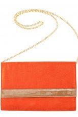 pomara�czowa torebka H&M - moda wiosna/lato