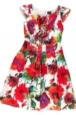 sukienka Kumi w kwiaty - wiosna-lato 2012