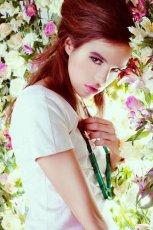 bia�a sukienka DanHen - wiosna/lato 2012