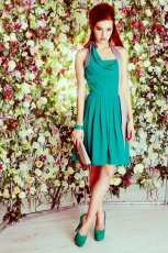 zielona sukienka DanHen - wiosna/lato 2012