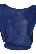 granatowa bluzka Solar - wiosna-lato 2012