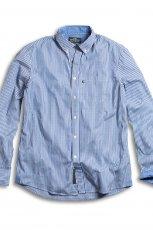 niebieska koszula KappAhl w pasy - kolekcja wiosenno/letnia