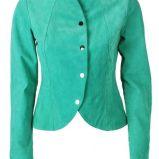 zielona kurtka Solar - z kolekcji wiosna-lato 2012