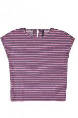 fioletowa bluzka Reporter w paski - trendy wiosna-lato