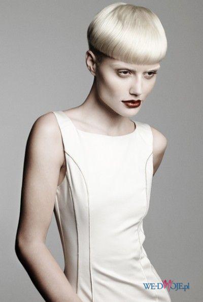 oryginalna fryzura grzybek  - modne ci�cia