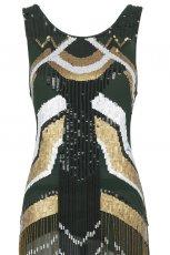 sukienka River Island z fr�dzlami - wiosna/lato 2012