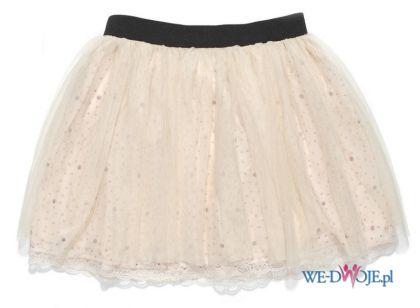 ecru spódnica C&A koronkowa - z kolekcji wiosna-lato 2012
