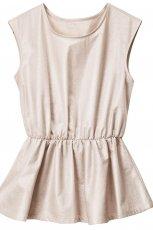 ecru bluzka H&M - wiosna/lato 2012
