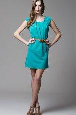 turkusowa sukienka Heppin - wiosna/lato 2012