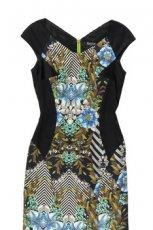 sukienka Bialcon w kwiaty - wiosna/lato 2012