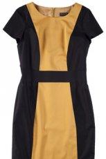 musztardowa sukienka Bialcon - wiosna/lato 2012