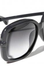 czarne okulary przeciws�oneczne Reserved - z kolekcji wiosna-lato 2012