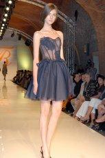 czarna sukienka Teresa Rosati - jesie�/zima 2012/2013