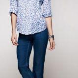 foto 1 - Dżinsy z rozszerzaną nogawką