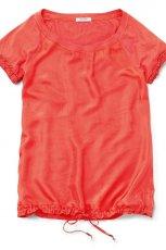 czerwona bluzka Geox - trendy wiosna-lato