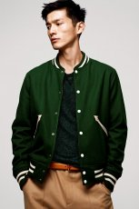 zielona kurtka H&M - jesie�/zima 2012/2013