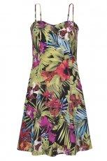 kolorowa sukienka Top Secret w kwiaty - kolekcja na lato