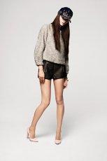 br�zowe szorty H&M - jesie�-zima 2012/2013