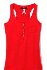 czerwony tanktop Reserved - wiosna/lato 2012