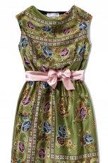 pomara�czowa sukienka Averly London asymetryczna - wiosna/lato 2012