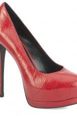 czerwone szpilki Kazar - moda 2012/13