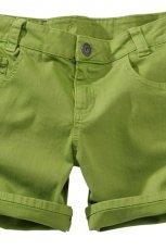 zielone szorty KappAhl - lato 2012