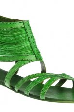 zielone sanda�y Gino Rossi - sezon letni