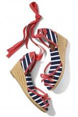kolorowe sanda�y Mohito na koturnie - z letniej kolekcji 2012