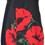 czarna sukienka Solar w kwiaty - wiosna/lato 2012