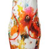 bia�a sukienka Solar w kwiaty - wiosna/lato 2012