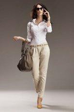 bia�a bluzka Nife - wiosna/lato 2012