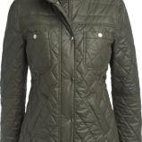 khaki kurtka KappAhl z kieszeniami ze st�jk� - jesie�-zima 2012/2013