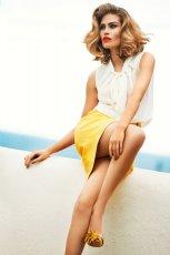 bia�a bluzka Caterina - wiosna-lato 2012