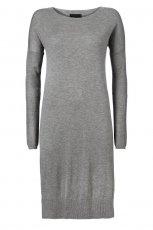 szara sukienka InWear midi - jesie�/zima 2012/2013