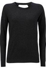czarna bluzka InWear g�adka - jesie�/zima 2012/2013