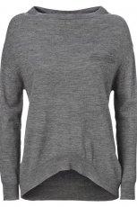 popielata bluzka InWear asymetryczna - jesie�/zima 2012/2013