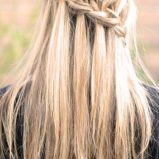 Lu�ny warkocz  - fantazyjne fryzury