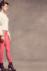 r�owe spodnie H&M rurki - jesie� 2012