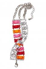 kolorowa bransoletka H&M brokatowe - lato 2012