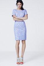 b��kitna sukienka H&M we wzorki midi - letnia kolekcja