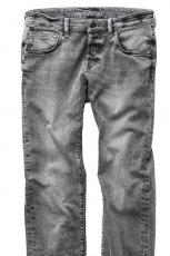 jeansy H&M z przetarciami - lato 2012