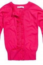 r�owy sweter Reserved z guzikami - jesie�/zima 2012/2013