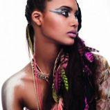 Egzotyczny makija� afryka�ski