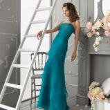 turkusowa suknia Aire Barcelona d�uga